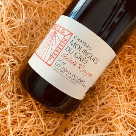 Chateau Mourgues du Grés - galets rouges 2018
