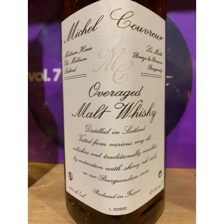 "WHISKY MICHEL COUVREUR ""OVERAGED"""